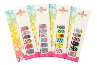 I Scream Nail Wraps