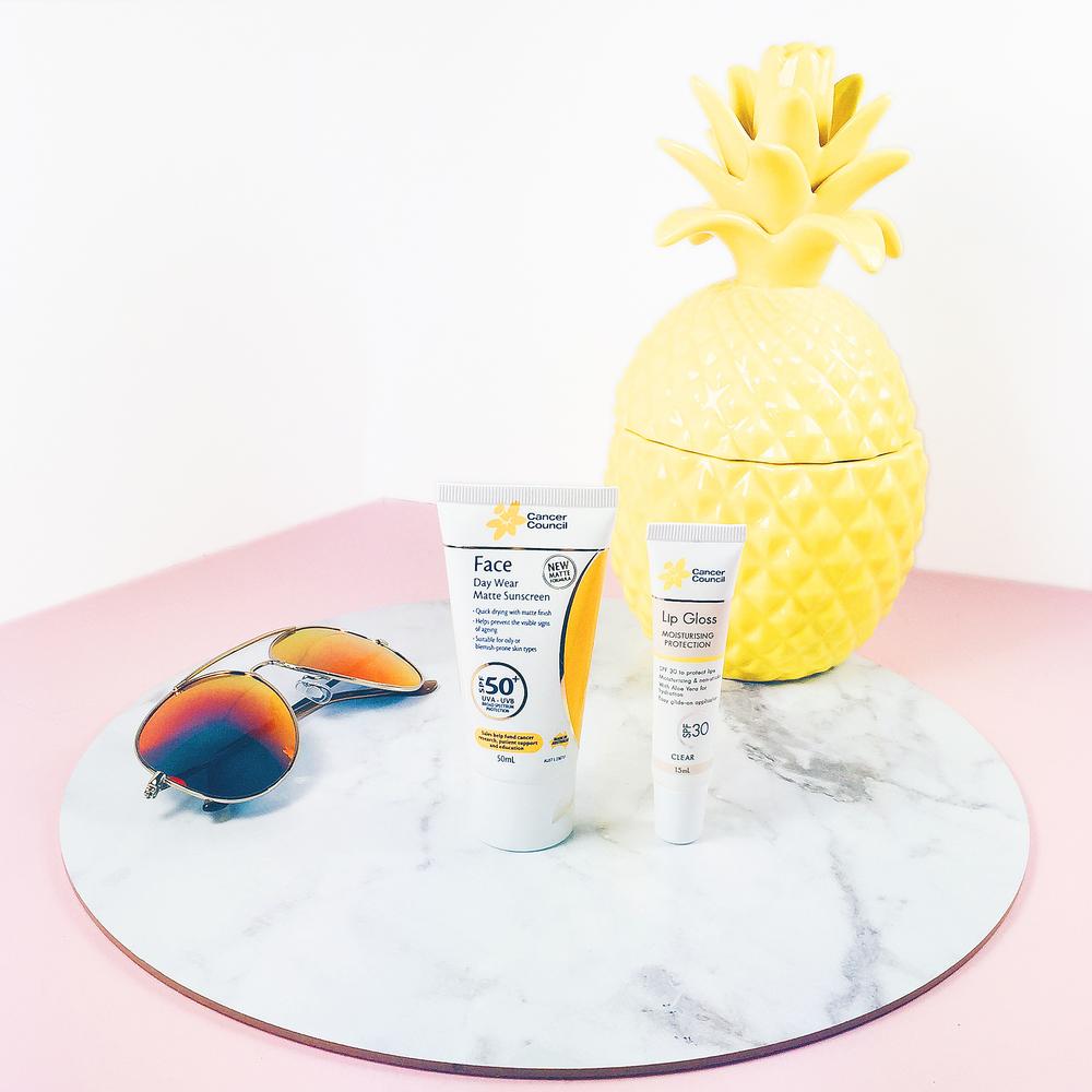 Marisa Robinson Makeup Artist - Cancer Council Matte Sunscreen