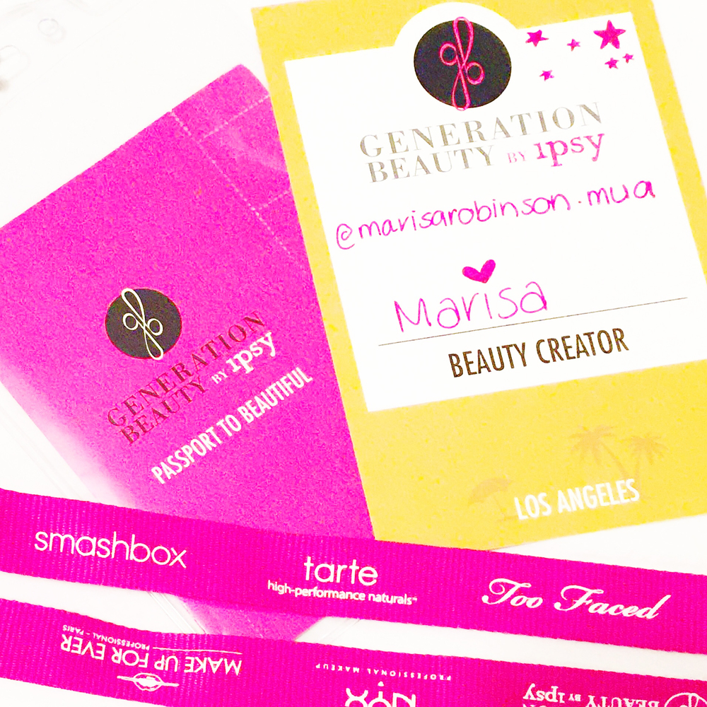 Marisa Robinson Makeup Artist Generation Beauty by Ipsy Passport to Beauty