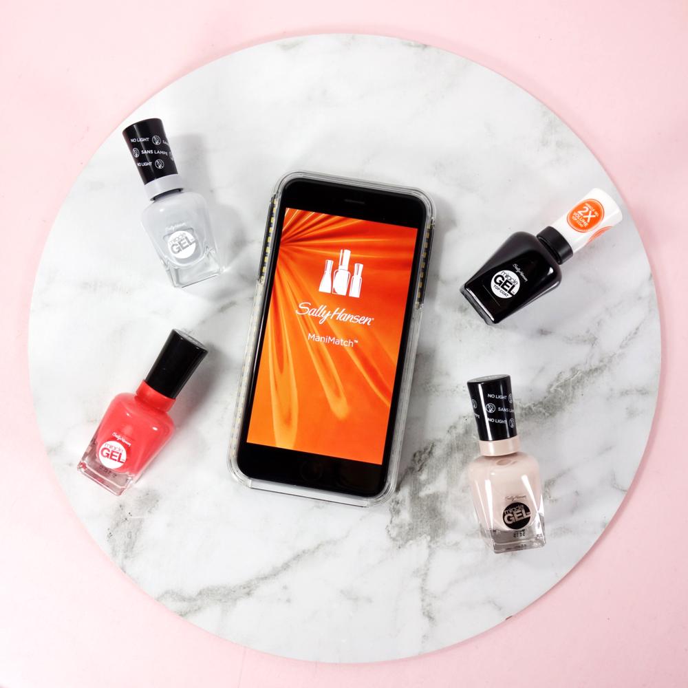 Marisa Robinson Makeup Artist Sally Hanson ManiMatch App
