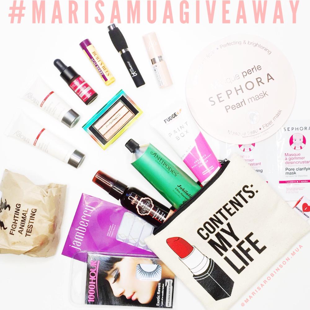 Marisa Robinson Makeup Artist Giveaway