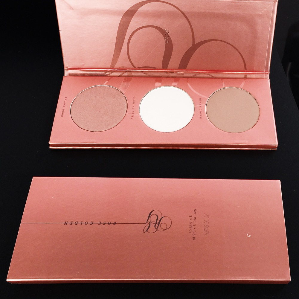 Marisa Robinson Makeup Artist Sephora Showcase Zoeva Rose Golden Blush Palette