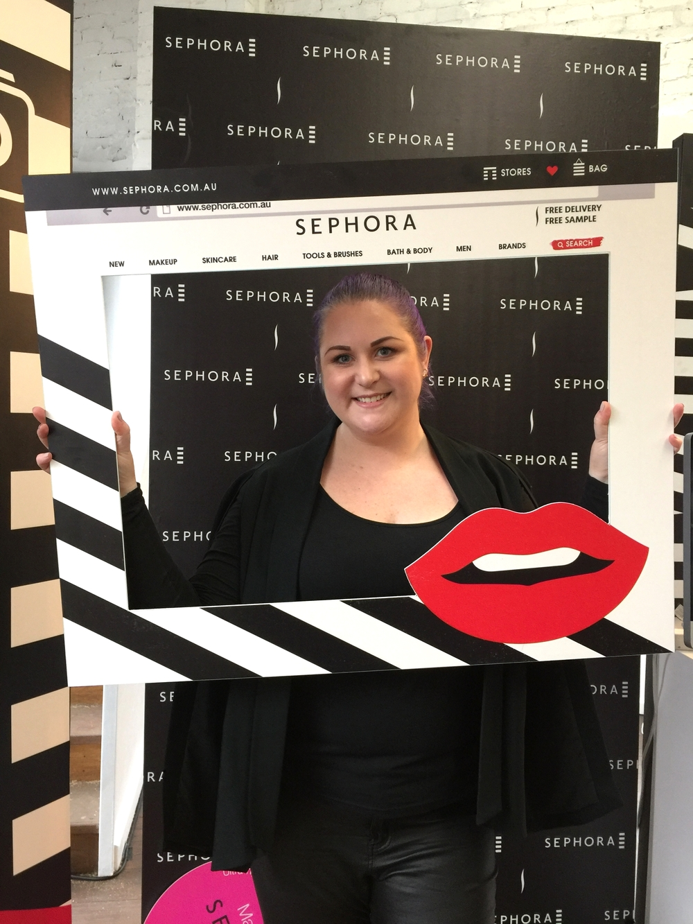 Marisa Robinson Makeup Artist Sephora Showcase