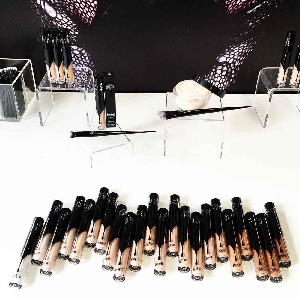 Marisa Robinson Makeup Artist Sephora Showcase Kat Von D Beauty Lock-It Complexion Collection