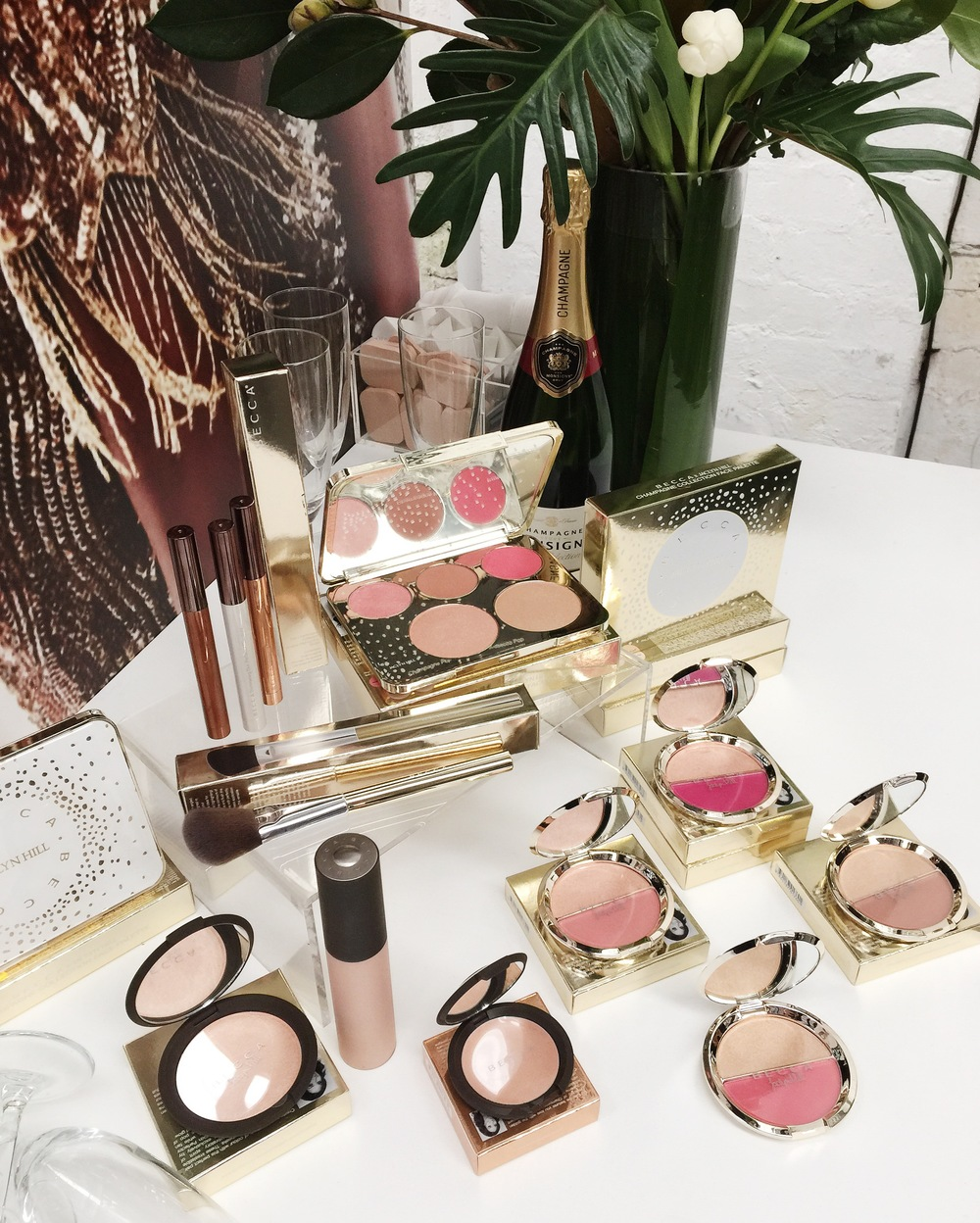 Marisa Robinson Makeup Artist Sephora Showcase Becca Cosmetics Champagne Glow Jaclyn Hill