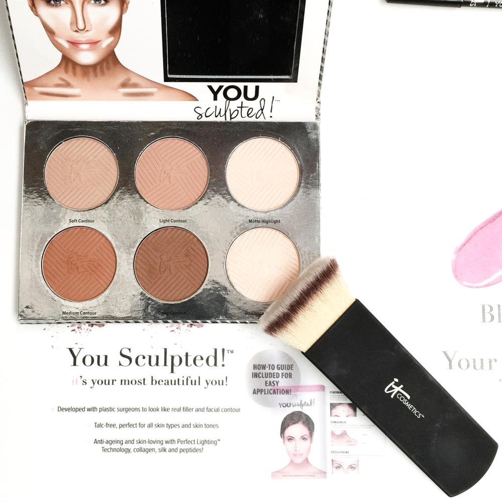 Marisa Robinson Makeup Artist Sephora Showcase It Cosmetics You Sculpted Contour Palette