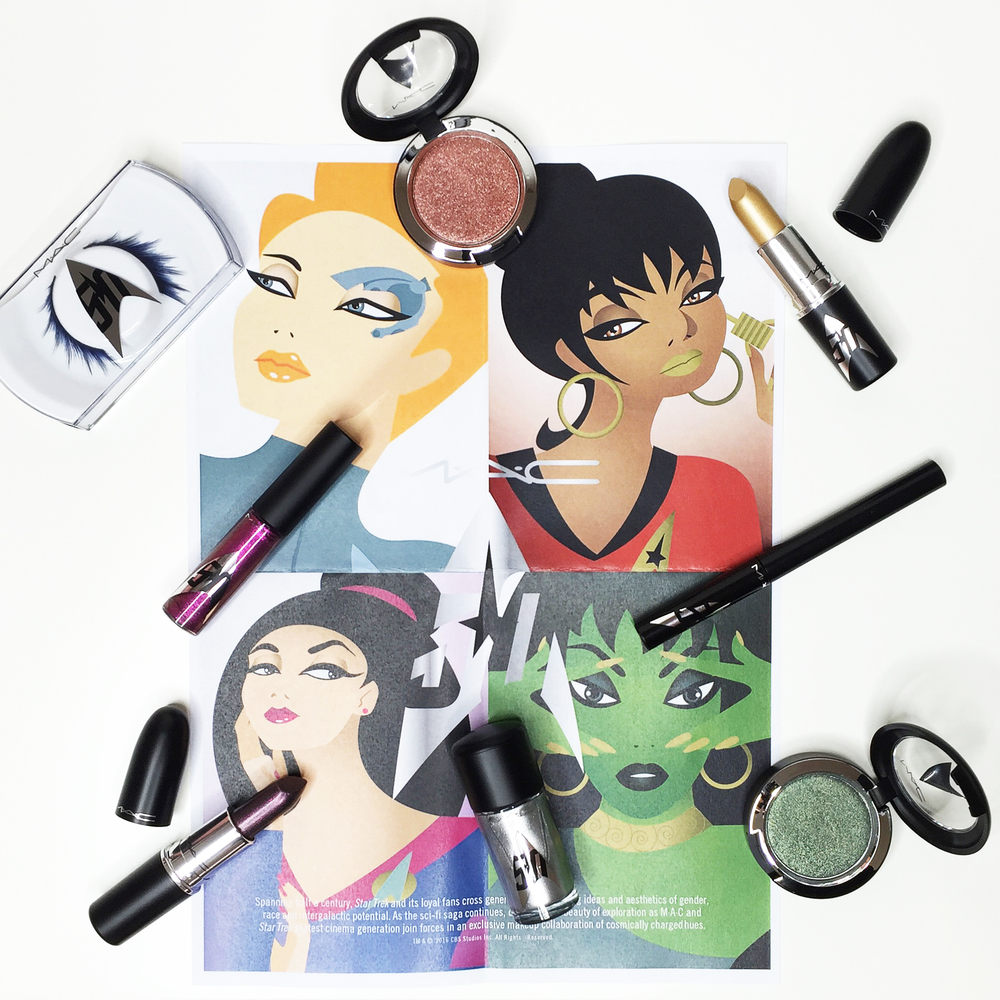 Marisa Robinson Makeup Artist MAC Cosmetics Star Trek Collection