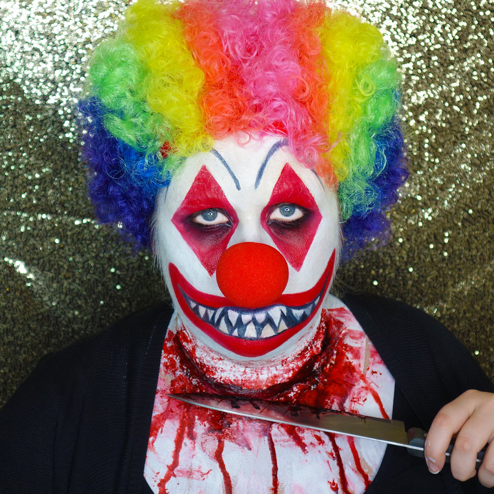 Marisa Robinson Makeup Artist Get The Look Halloween Killer Clown
