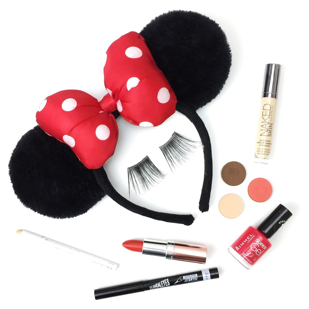 Marisa Robinson Makeup Artist Get The Look Halloween Minnie Mouse Makeup Look