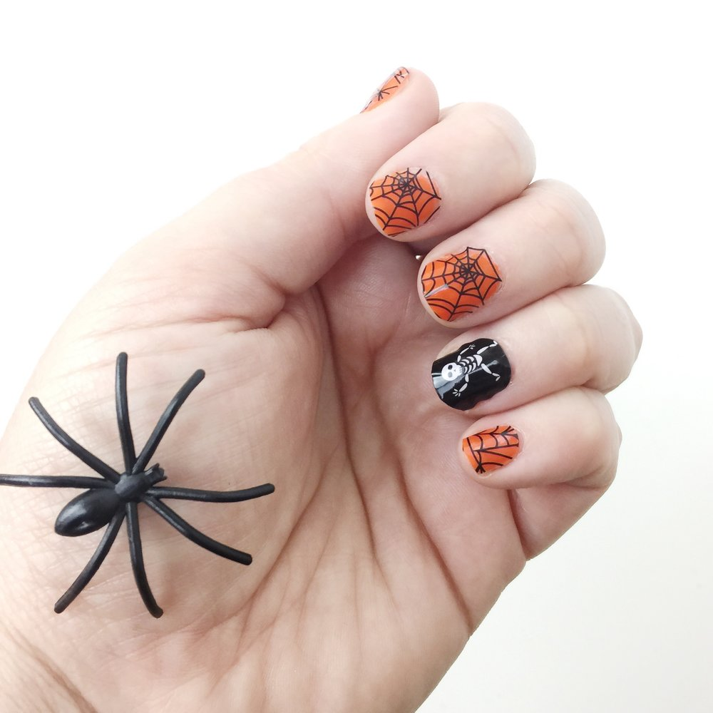 Marisa Robinson Makeup Artist Halloween Manicure Jamberry Nail Wraps