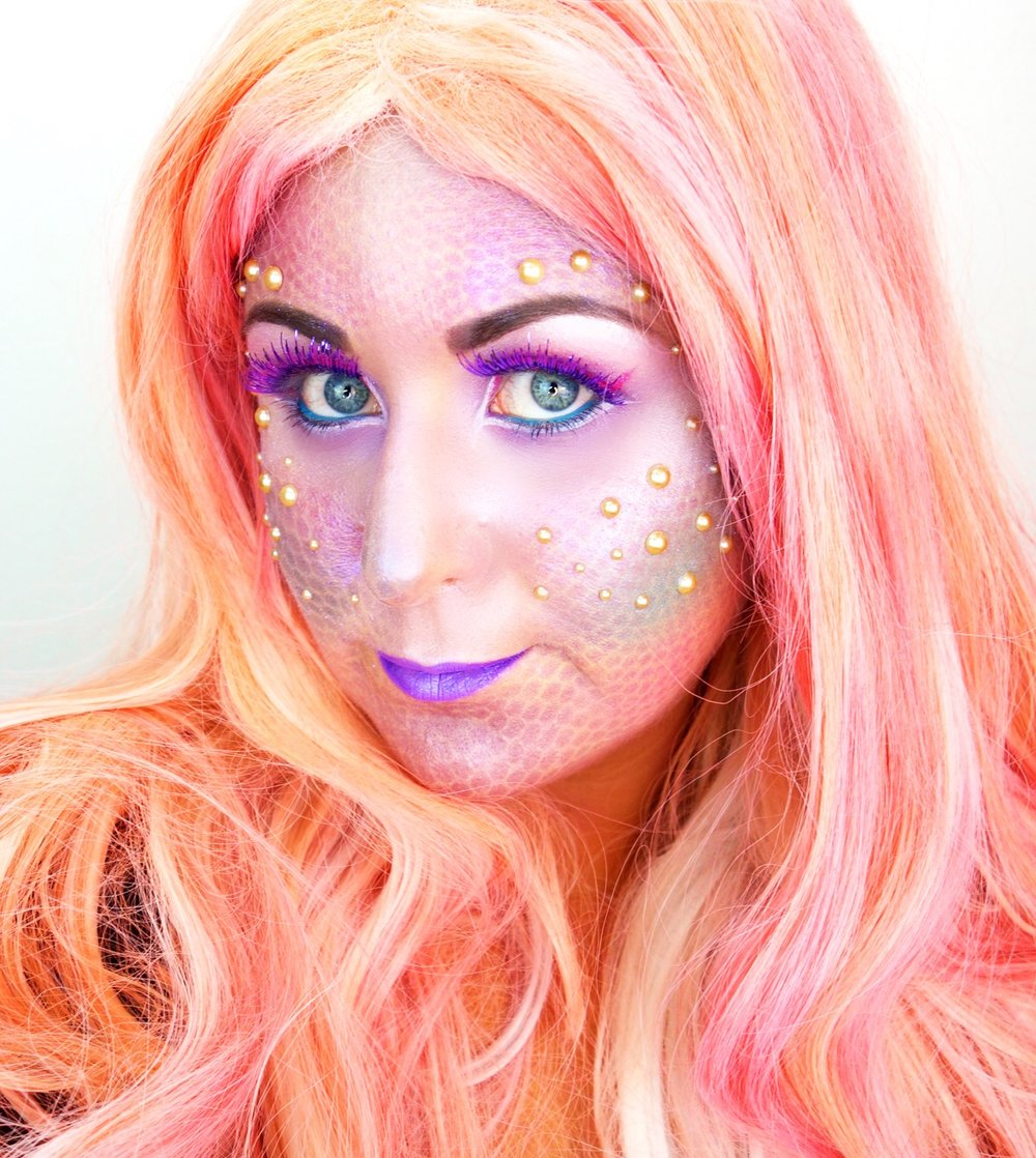 Marisa Robinson Makeup Artist Get The Look Halloween Glam Mermaid