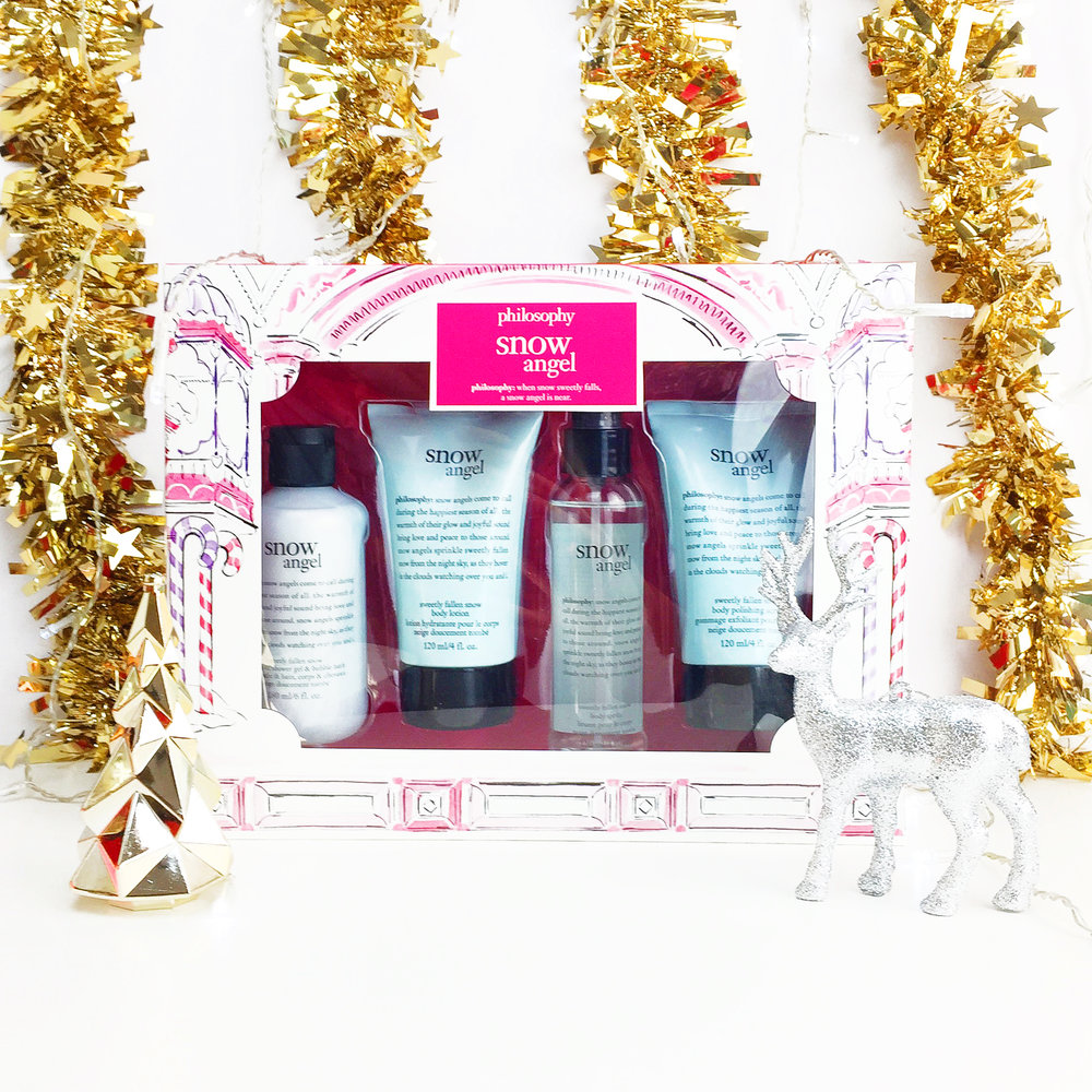 Marisa Robinson Makeup Artist 2016 Holiday Gift Guide Philosophy Snow Angel Set
