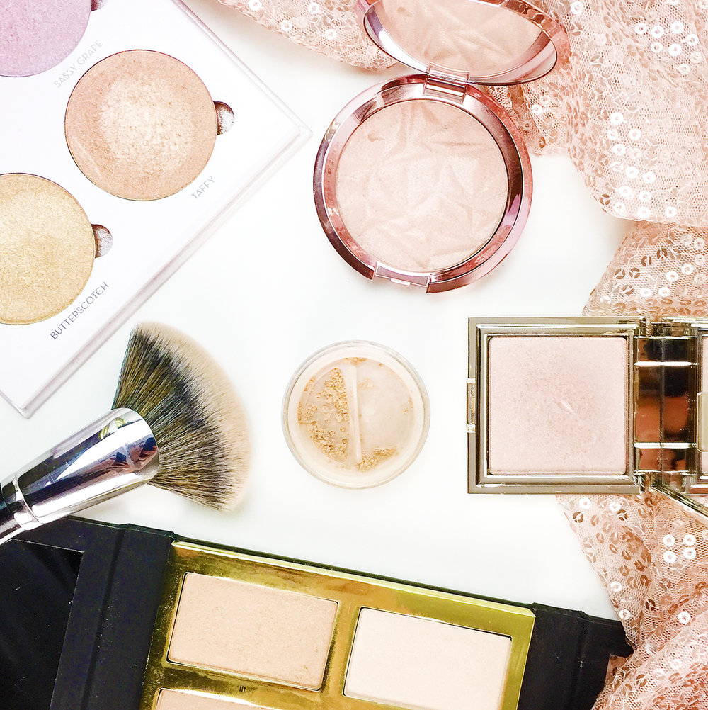Highlighter Heaven My Top 5 Highlighters Marisa Robinson Beauty Blogger