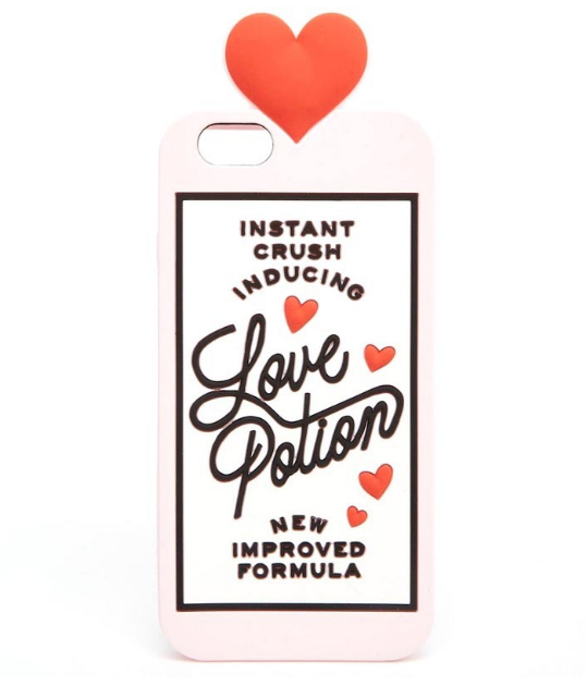 Marisa Robinson Beauty Blogger Valentine's Day Gift Guide ban.do love potion iphone case