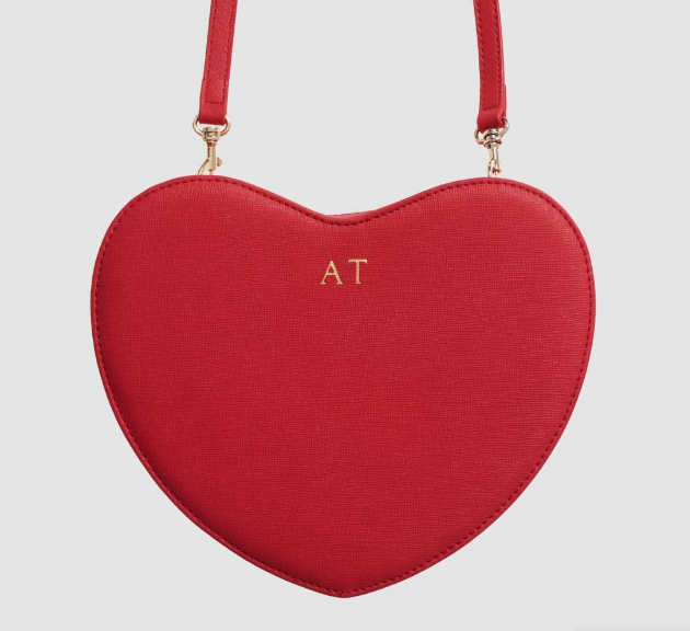 Marisa Robinson Beauty Blogger Valentine's Day Gift Guide tde red heart cross body bag