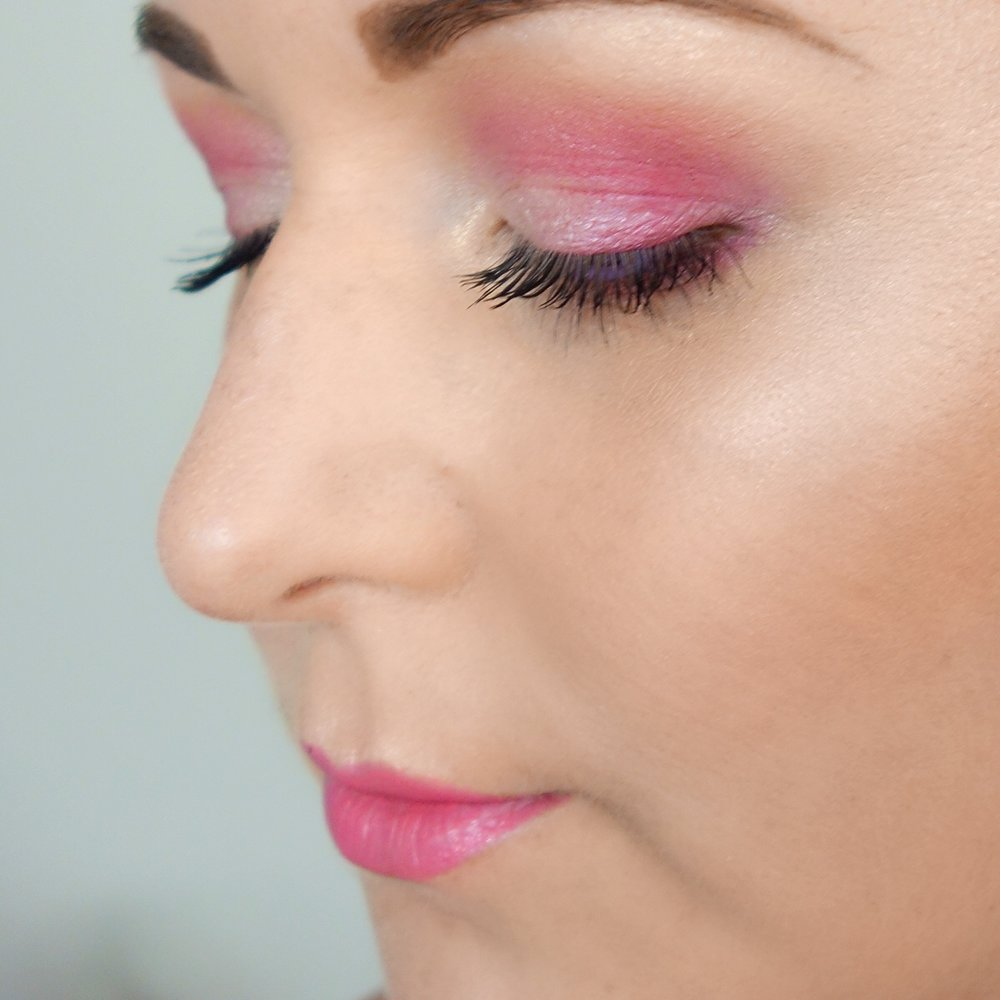 Marisa Robinson Beauty Blogger Get The Look Valentines Day Look Pretty In Pink