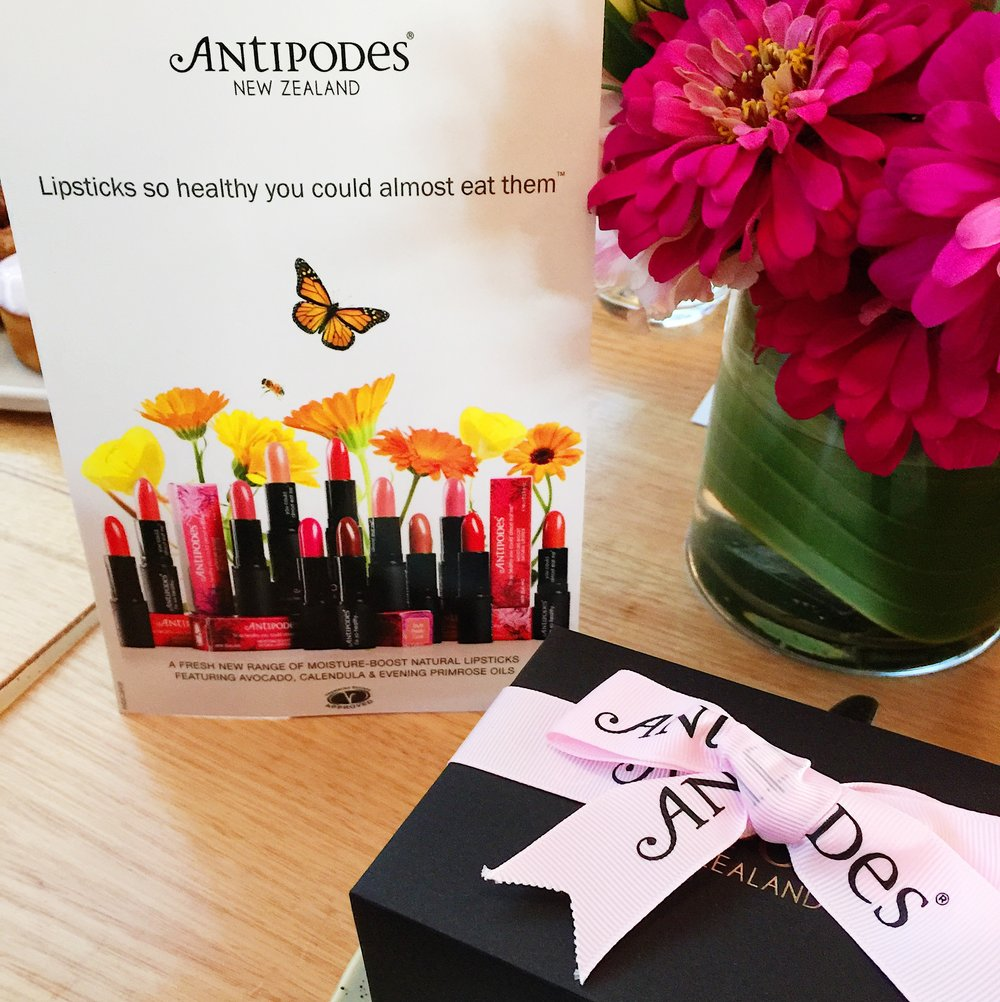 Marisa Robinson Beauty Blogger Antipodes Moisture-Boost Lipstick Launch