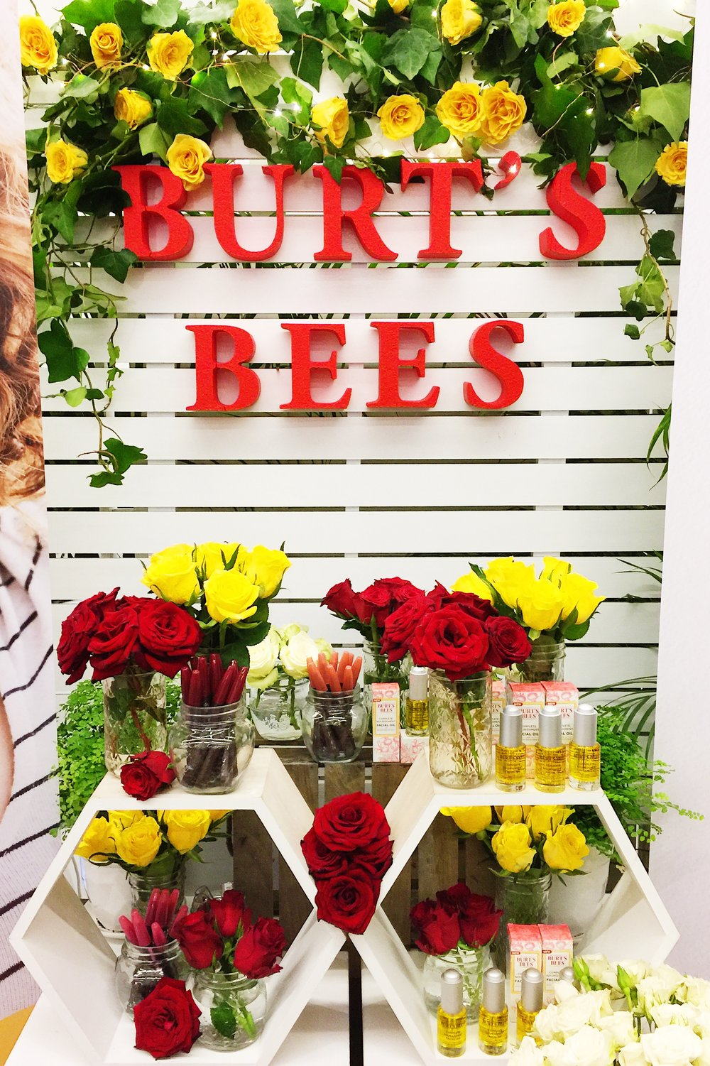 Marisa Robinson Beauty Blogger Priceline: The Beauty Prescription Event 2017 Burt's Bees