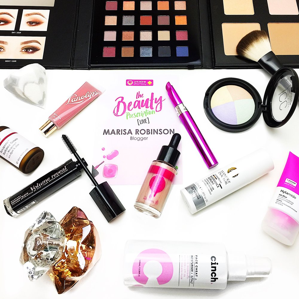 Marisa Robinson Beauty Blogger Priceline: The Beauty Prescription Event 2017 Priceline Beauty Prescription Live 2017