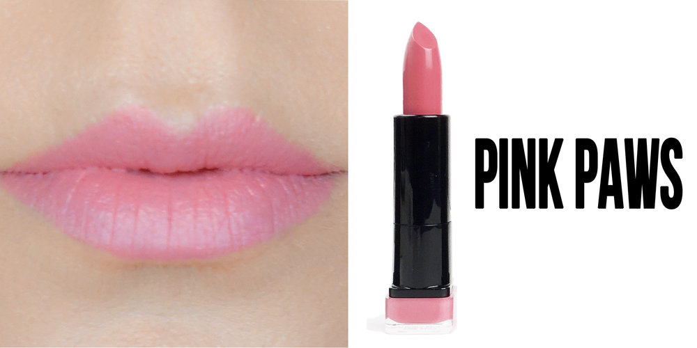 Marisa Robinson Beauty Blogger Katy Perry Covergirl Katy Kat Matte Lipstick Collection Pink Paws