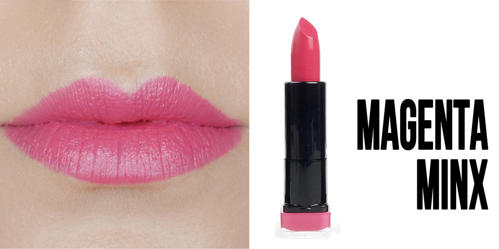 Marisa Robinson Beauty Blogger Katy Perry Covergirl Katy Kat Matte Lipstick Collection Magenta Minx