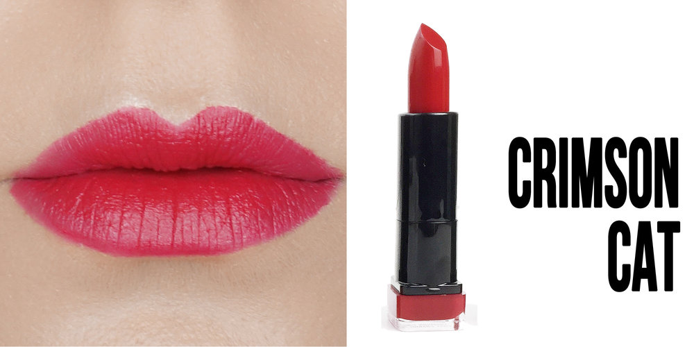 Marisa Robinson Beauty Blogger Katy Perry Covergirl Katy Kat Matte Lipstick Collection Crimson Cat
