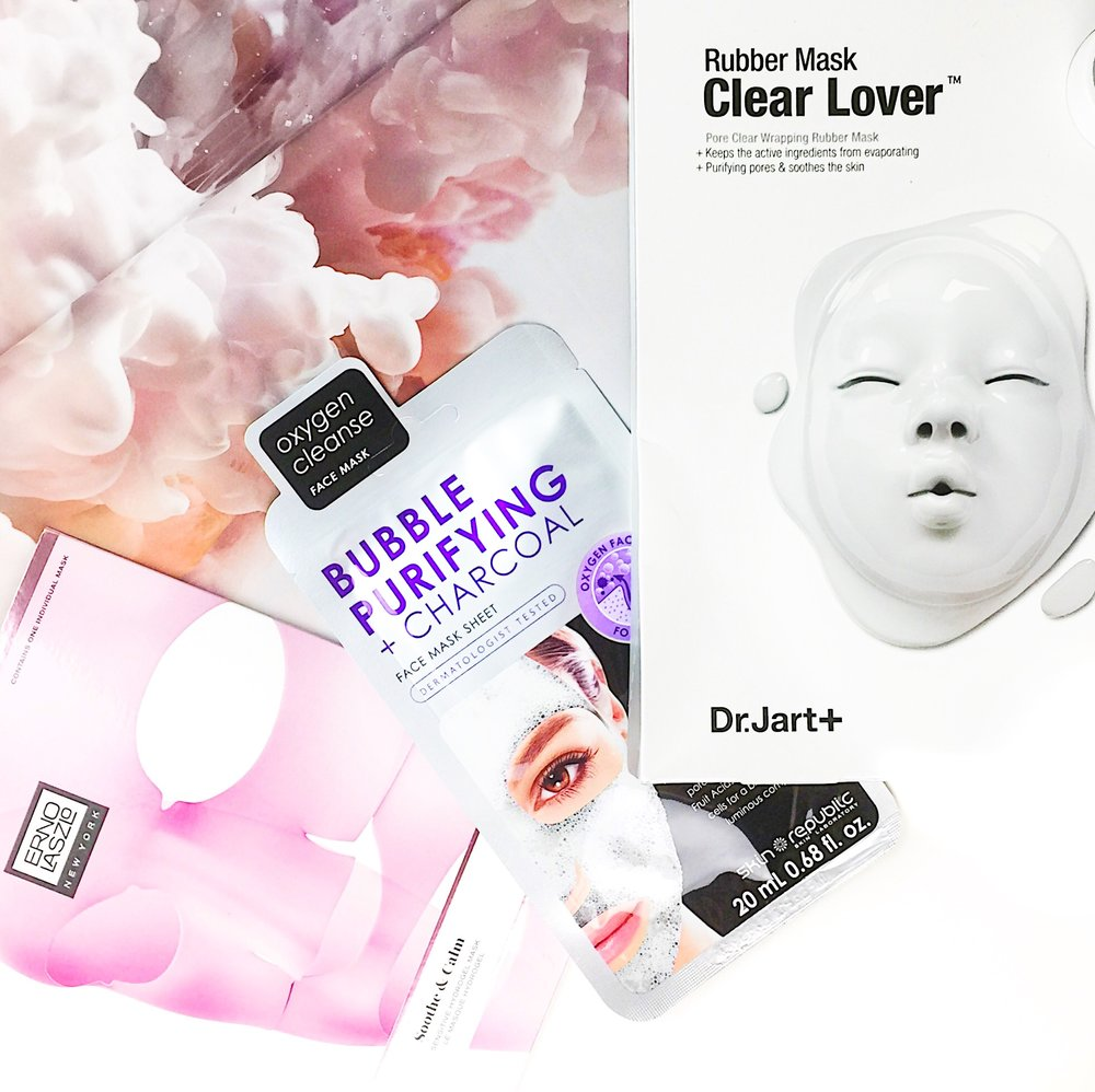 Marisa Robinson Beauty Blogger Favourite Sheet Masks
