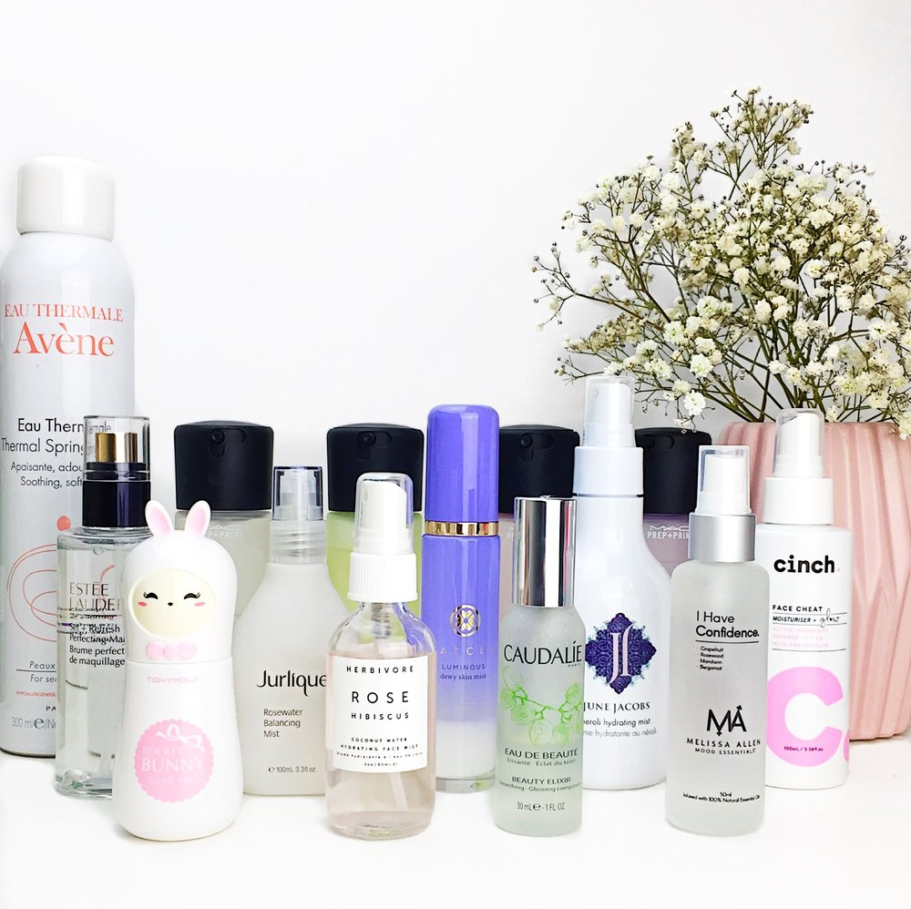 Marisa Robinson Beauty Blogger Setting Sprays and Facial Mists