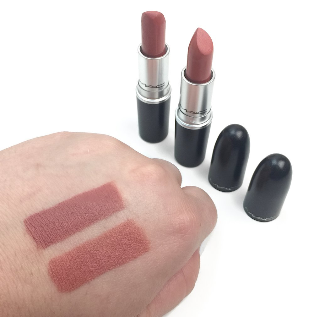 Marisa Robinson Beauty Blogger MAC Cosmetics Nikkia Joy Lipstick Swatch