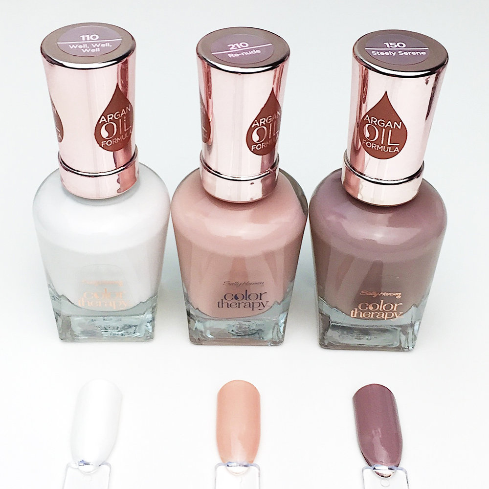 Marisa Robinson Beauty Blogger Sally Hansen Color Therapy Red Carpet Collection