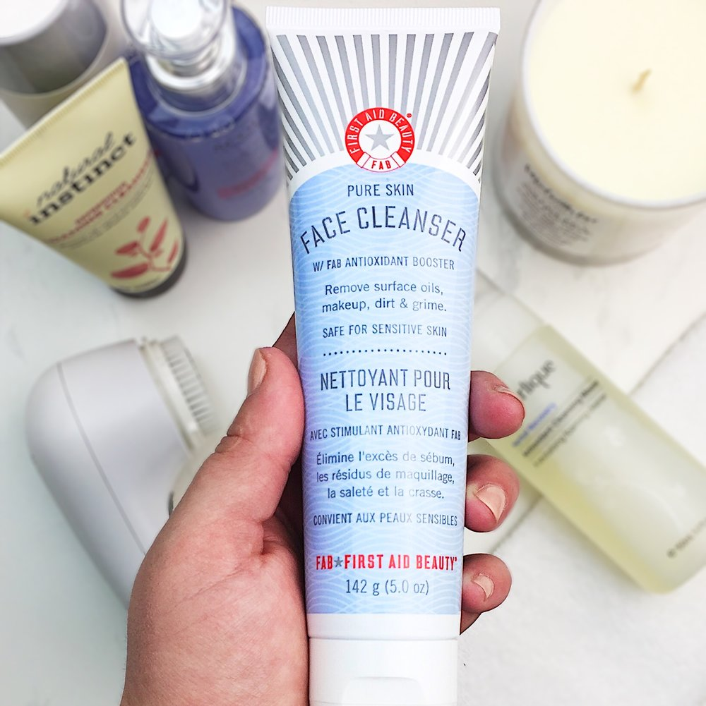 Marisa Robinson Beauty Blogger Ace Your Base Part 1 Cleansers First Aid Beauty