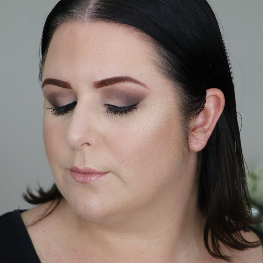 Marisa Robinson Beauty Blogger Rimmel Brow Shake Filling Powder After