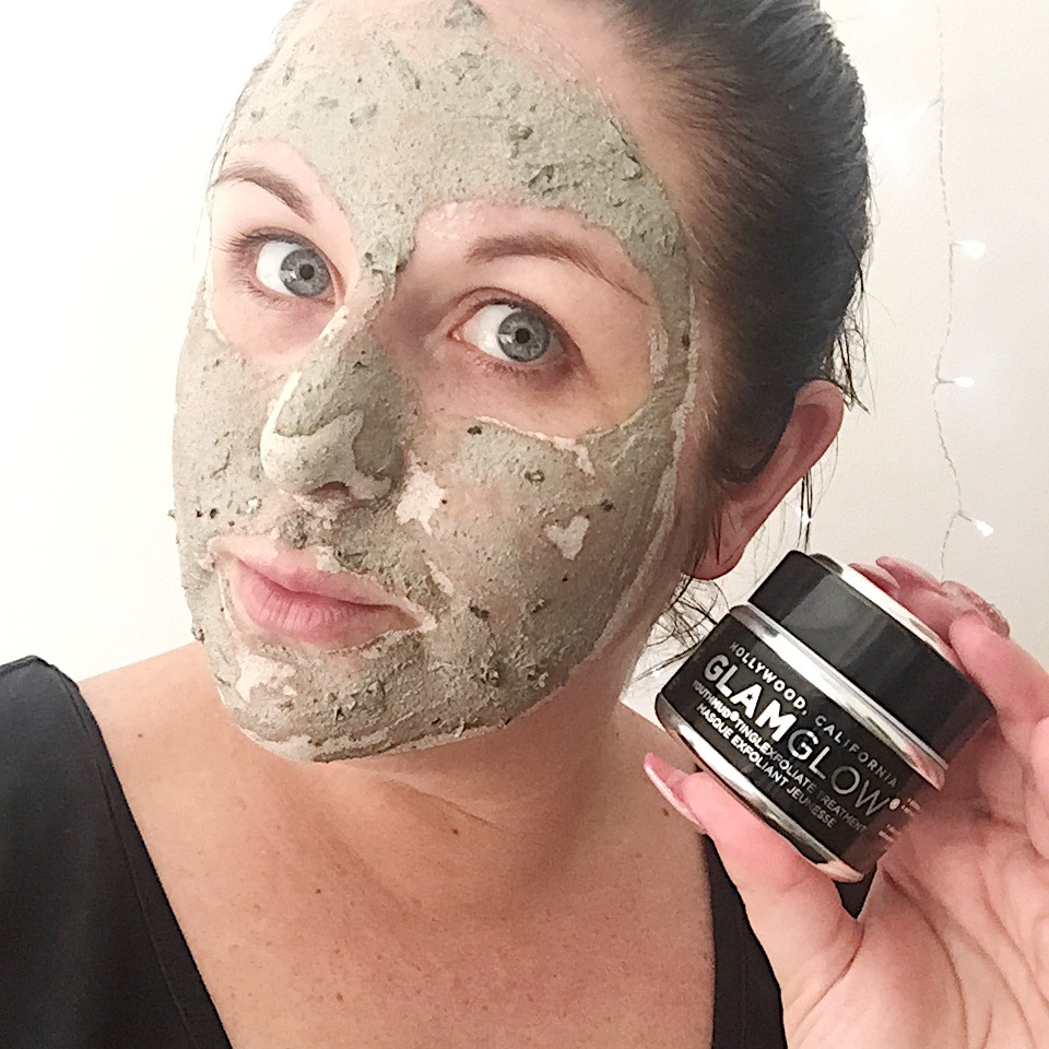 Marisa Robinson Beauty Blogger Ace Your Base Face Masks GlamGlow Mud Masks