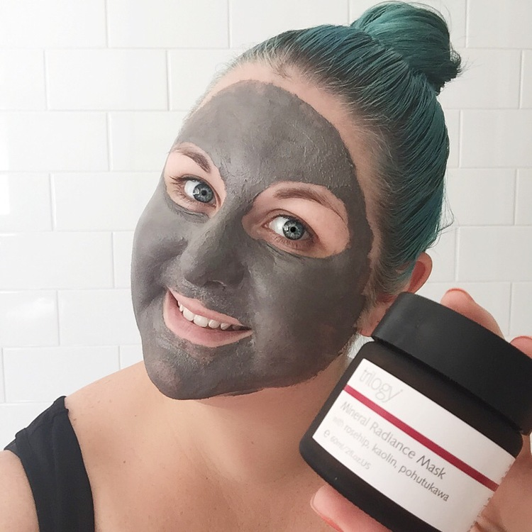 Marisa Robinson Beauty Blogger Ace Your Base Face Masks Trilogy Face Mineral Radiance Mask