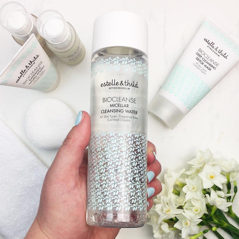 Marisa Robinson Beauty Blogger Estelle and Thild BioCleanse Micellar Water Review