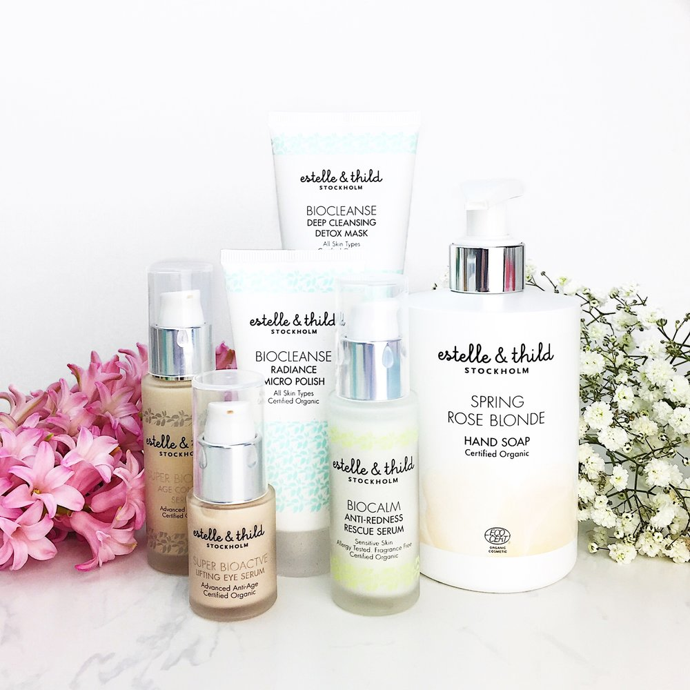 Marisa Robinson Beauty Blogger Estelle and Thild Certified Organic Skincare