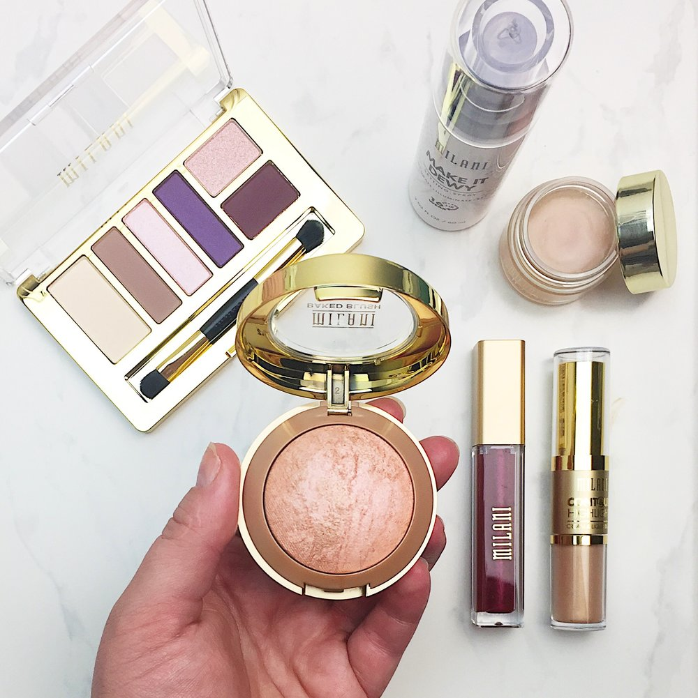 Marisa Robinson Beauty Blogger Milani Cosmetics Review