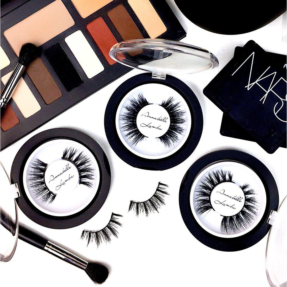 Marisa Robinson Beauty Blogger Annabelle Lumba Mink Lashes
