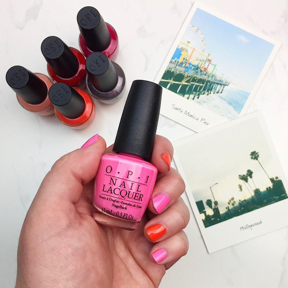 Marisa Robinson OPI California Dreaming Swatches