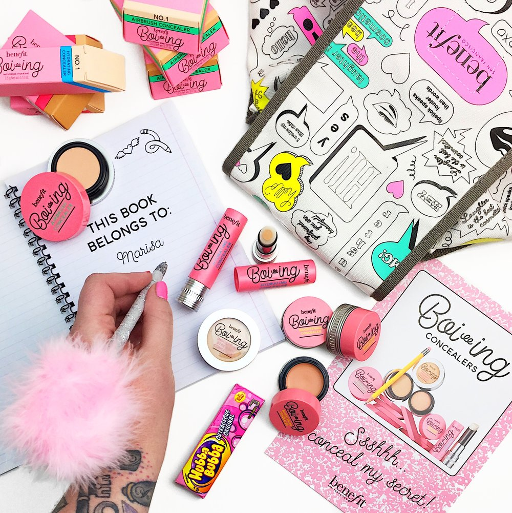Marisa Robinson Beauty Blogger Benefit Cosmetics Boi-ing Concealer