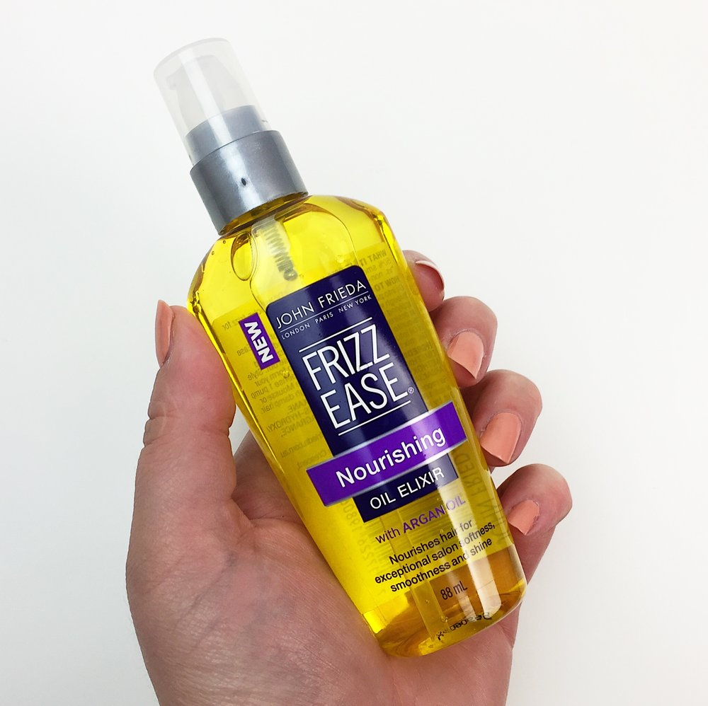 Marisa Robinson Beauty John Frieda Frizz Ease Review