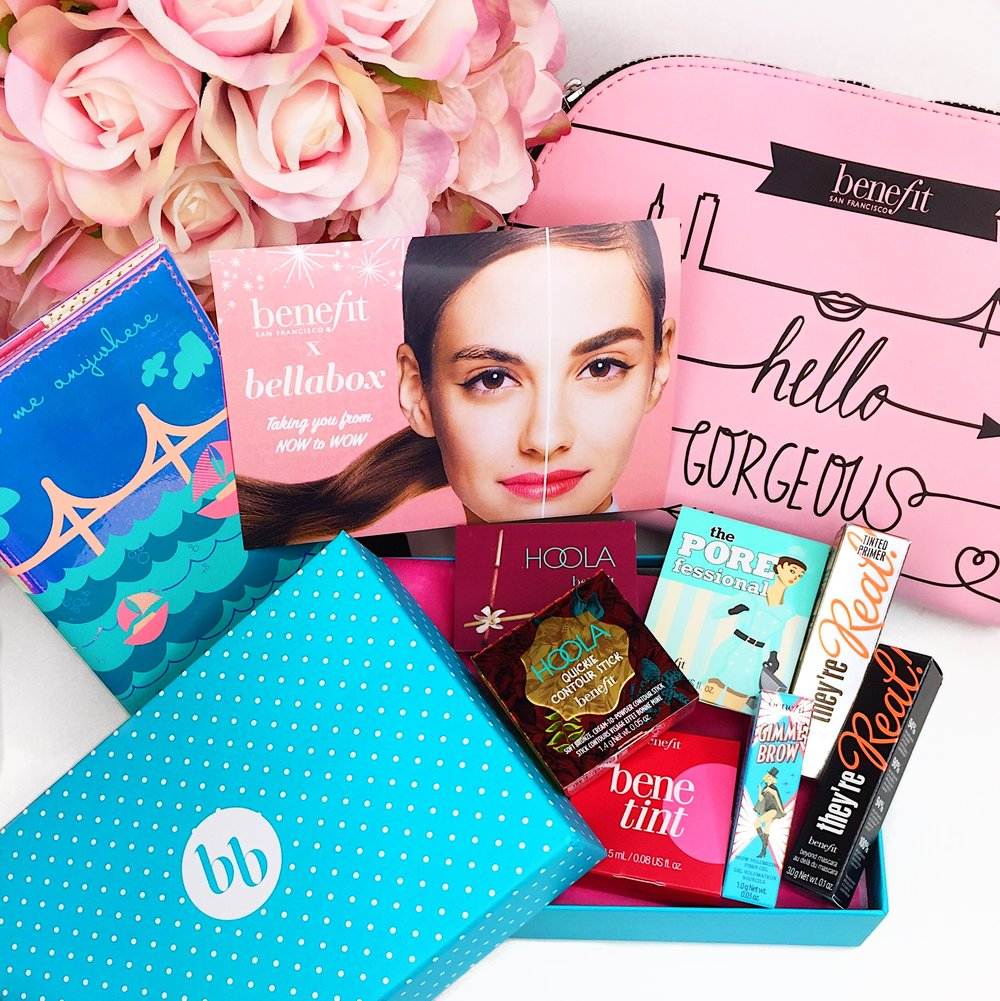 Marisa Robinson Beauty Bellabox x Benefit Cosmetics