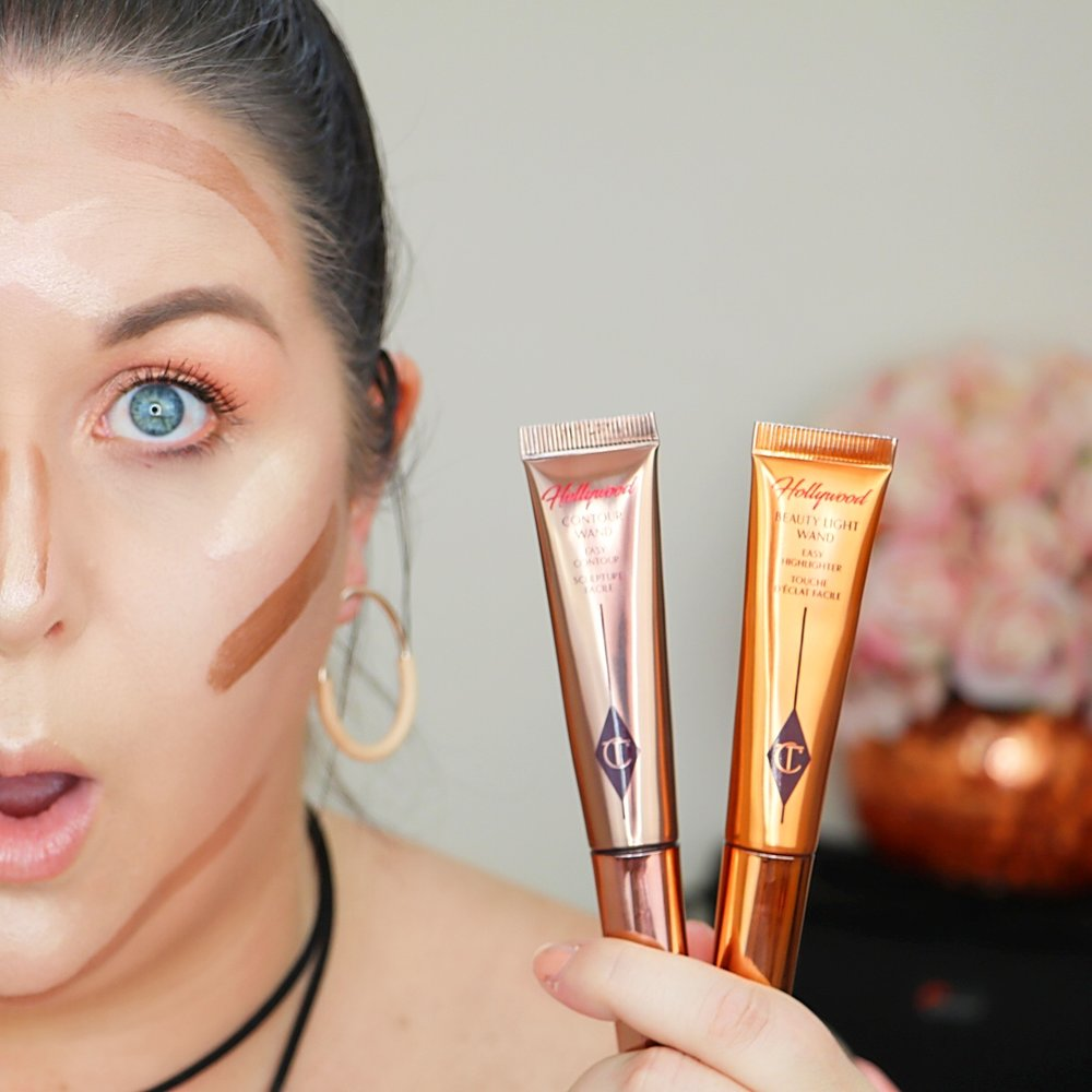 Marisa Robinson Beauty Charlotte Tilbury Hollywood Contour and Highlighter Wand Review