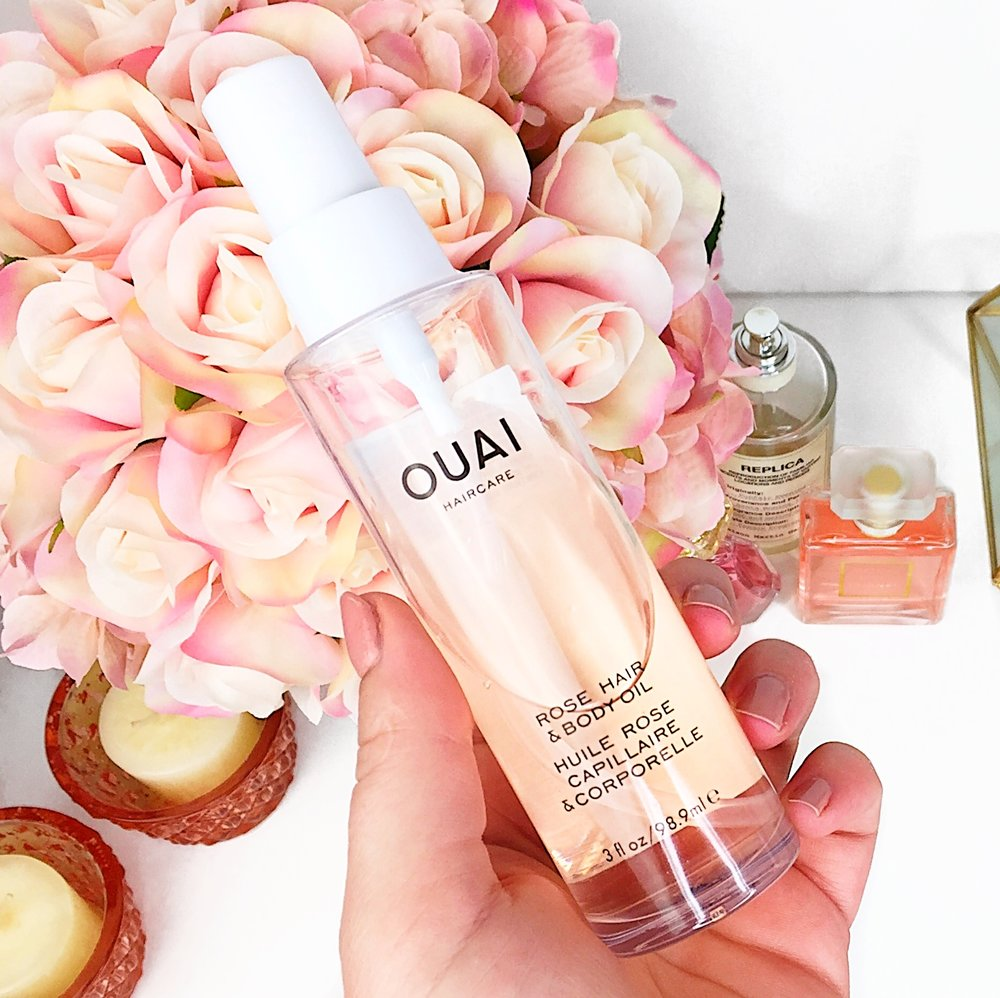 Marisa Robinson Beauty Ouai Rose Hair and Body Oil