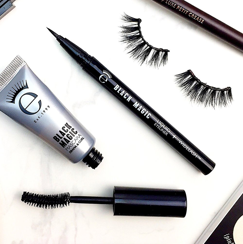 7b0cb0dabae Marisa Robinson Beauty Eyeko Black Magic Liquid Eyeliner and Mascara