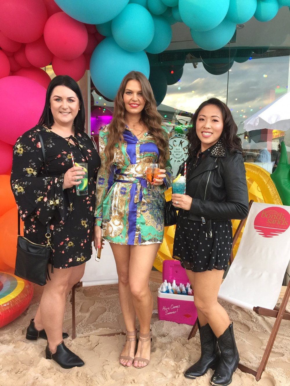 Marisa Robinson Beauty Bondi Sands Suncare Launch
