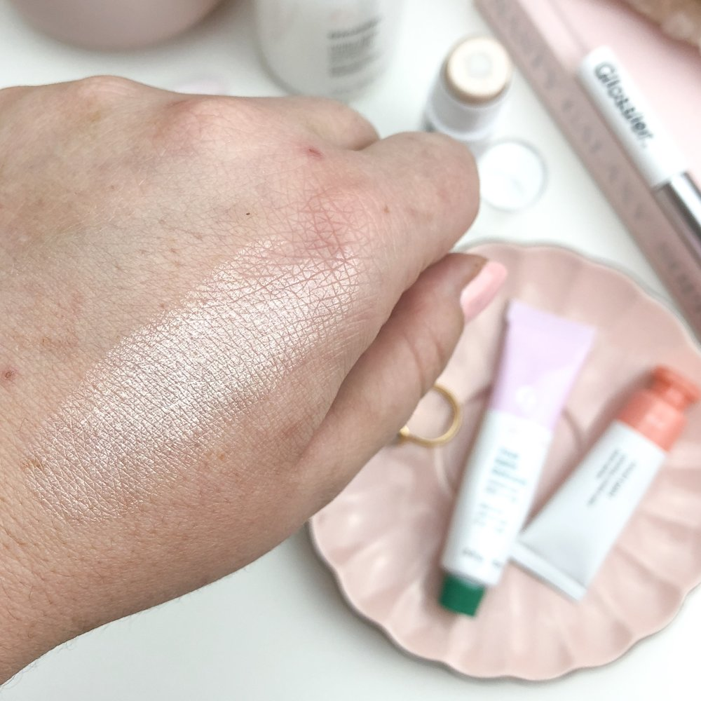 Glossier Haloscope Swatches