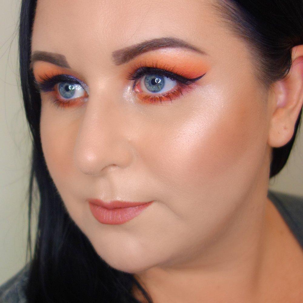 Designer Brands x Sophie Cachia makeup look