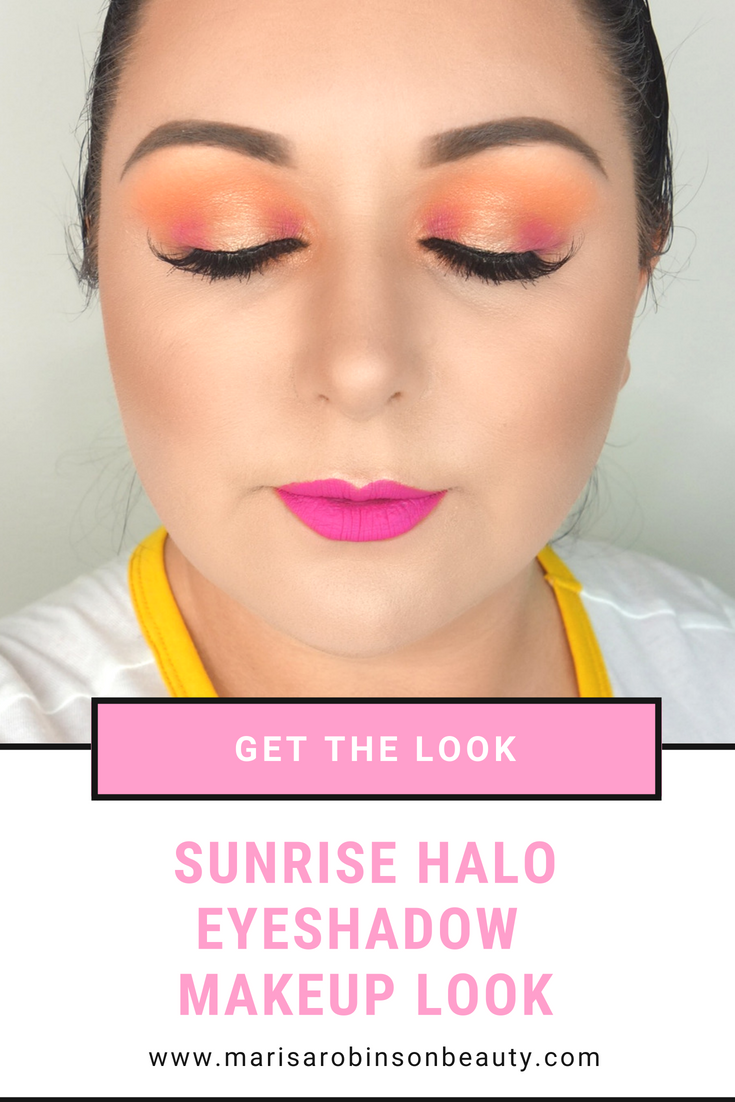 Marisa Robinson Beauty Sunrise Makeup Look