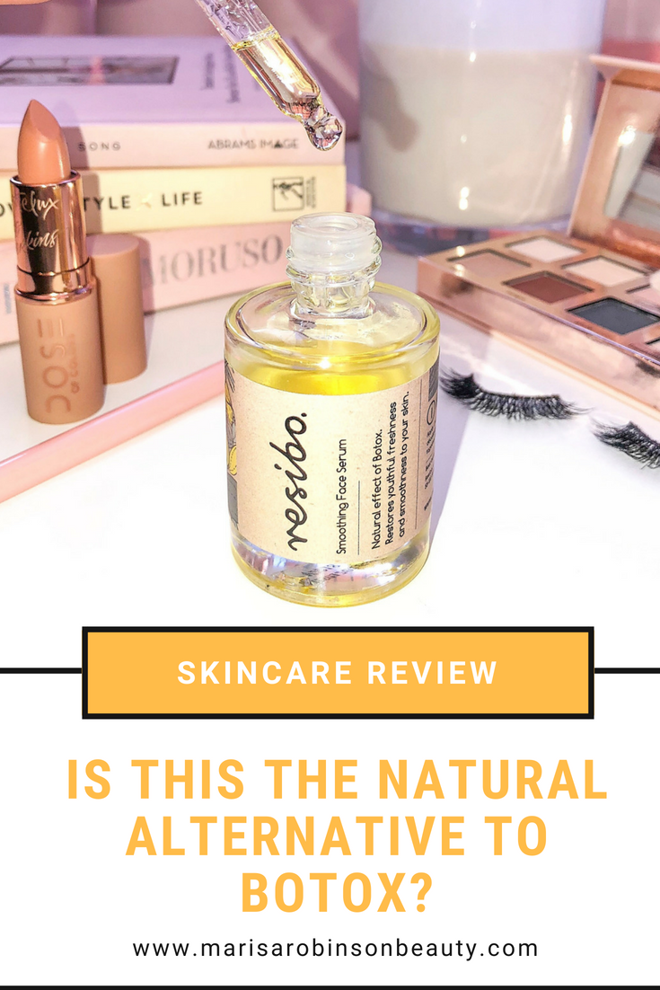 Resibo Smoothing Face Serum Review - Natural Botox